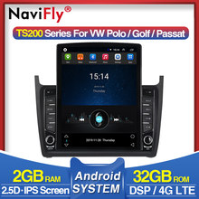 "4G IPS DSP 9.7"" Android 9.0 Car Radio GPS Navigation Multimedia Player For VW Volkswagen POLO Sedan 2008-2015 Auto Stereo WIFI(China)"