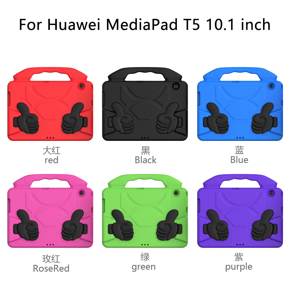 For huawei mediapad t5 case Shock Proof EVA full body tablet cover for Huawei huawei mediapad t5 10.1 inch case for kids