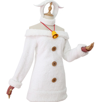 Pre sell Re Zero Kara Hajimeru Isekai Seikatsu Remu Fairy Tale Seven Sheep Winter Dress Outfit Anime Cosplay Costumes