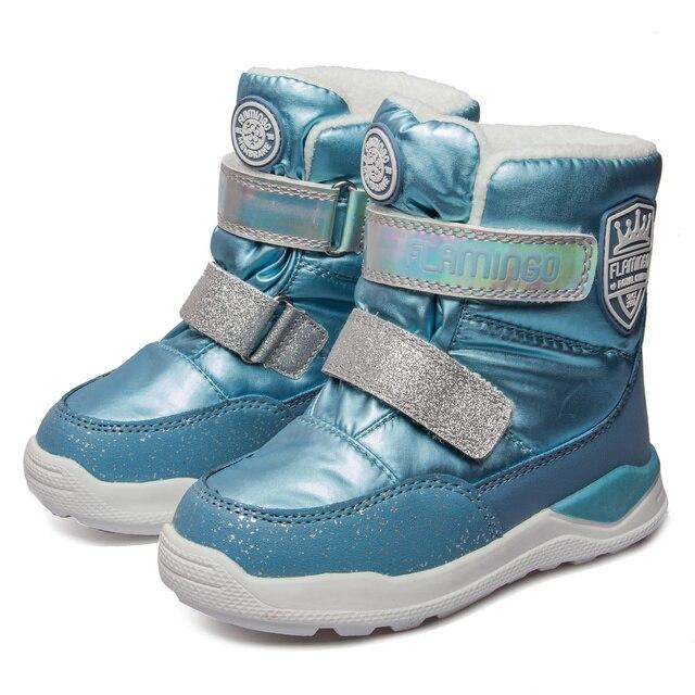 Ботинки Фламинго 92m qk 1629 ботинки для девочек обувь для детей 27 32 #