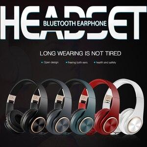 Image 5 - Scrub Wireless Headphone Portable Bluetooth 5.0 Earphone Foldable Handsfree Headset For Ear Head Phone iPhone Xiaomi Huawei