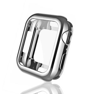 360 Slim Watch Cover for Apple Watch Case series 5 4 3 2 1 42MM 38MM Soft Clear TPU Screen Protector for iWatch 44MM 40MM