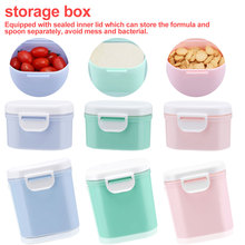 Baby Formula Milk Storage Infants Portable Powder Dispenser Food Container Feeding Box for Kids PP