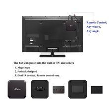 цена на Mini X96 TV Box For Android 7.1.2 Amlogic S905W 2GB RAM+16GB ROM Quad Core WIFI HDMI 4K*2K HD Smart Set Top Box Support TF