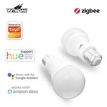 Voice Control WiFi Smart Light Bulb E27 LED RGB Lamp Multi Color Scenes Dimmable Timer Function Magic Bulb For Alexa Google Home