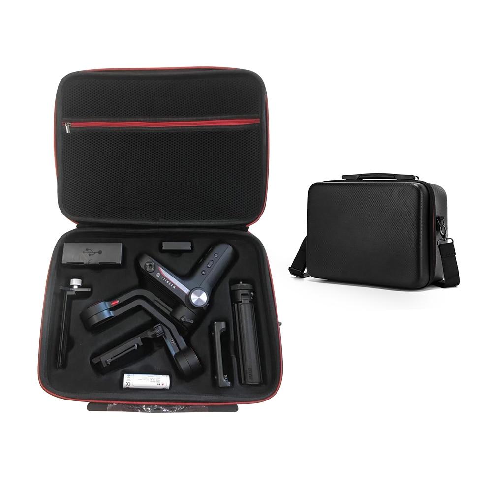 Storage Bag For ZHIYUN Weebill S Handheld Gimbal Protective Case Storage Box Handbag Valise Shoulder Crossbody Bag Accessories
