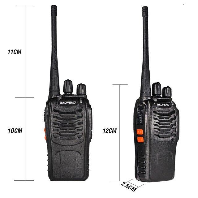 3PCS Baofeng BF 888S Two Way Radio BF-888S 6km Walkie Talkie 5W Portable CB Ham Radio Handheld HF Transceiver Interphone bf888S