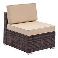 Одиночный открытый диван без подлокотника