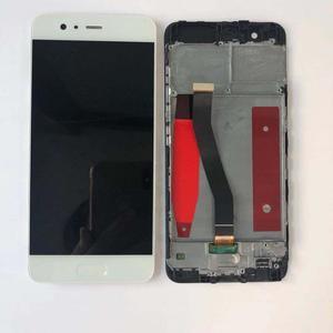 Image 5 - HUAWEI P10 ekran çerçeve ile LCD dokunmatik ekran orijinal için HUAWEI P10 LCD ekran ile parmak izi 5.1 inç VTR L09 L10 l29