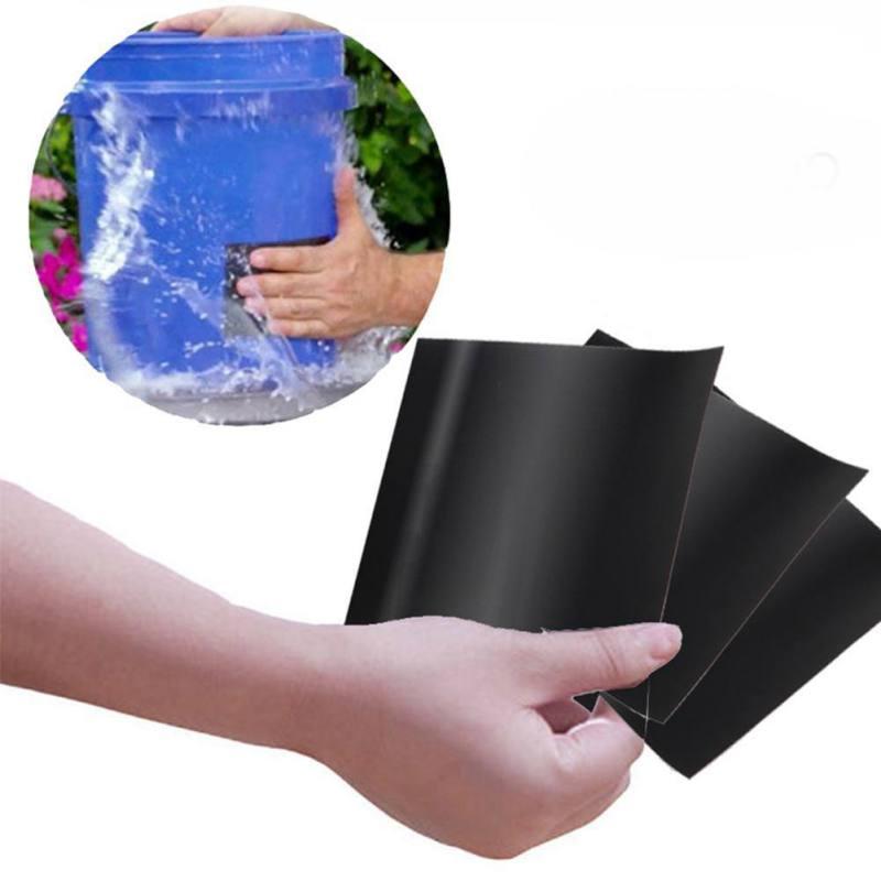 Multi-Purpose Black Waterproof Repair Sealing Insulating Tape For Emergency Pipe Water Pipe Leakage Wire Nano Magic Tape