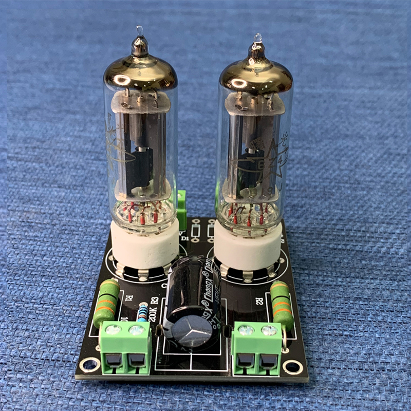 6Z4 rectifier board two tube  parallel experimental power supply single and double power supply winding