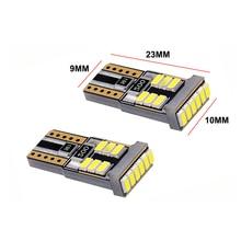 T10 3014 18SMD Canbus W5W 194 168 Led lampen Chip 12V Auto Tür Licht Keil Clearence Schwanz Licht Weiß