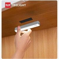 Yeelight PIR Motion und lichtsensor LED Unter Kabinett Licht Auto Auf/Off 4000k Für Küche Schlafzimmer Schrank kleiderschrank Nacht Lichter
