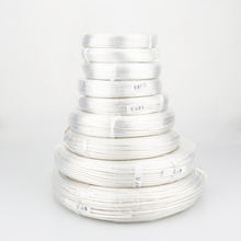 Free shipping 10meter/lots  Silver Plated 6N OCC Signal Wire Cable 0.12square for DIY Headphone cable 0.12 6 square