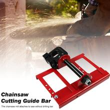 2020 New Chainsaw Mill Lumber Cutting Guide Bar for Builders Woodworkers