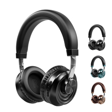 цена на Over-ear Bluetooth Earphones with Noise Cancelation HIFI Stereo Wireless Earphone Gaming  Music Headset with Mic Support TF Card