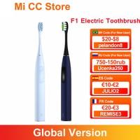 Oclean-cepillo de dientes eléctrico para adultos modelo F1, dispositivo dental ultrasónico resistente al agua IPX7, con 3 modos de carga