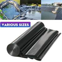 17 Sizes EPDM/HDPE Fish Pond Liner Landscaping Waterproof Impermeable Membrane Pools Cover Pond Liner Thicken Heavy Duty Liner