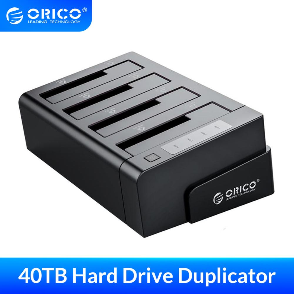 ORICO 2.5 3.5 Inch HDD Case SSD Adapter USB 3.0 to SATA For PC Laptop Hard Drive Docking box 32TB External Storage HDD Enclosure image