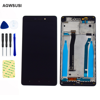 For Xiaomi Redmi 3 LCD Display Touch Screen 5.0 inch For Redmi 3 3S LCD Monitor Module Glass Assembly with Frame Redmi 3X 3 Pro