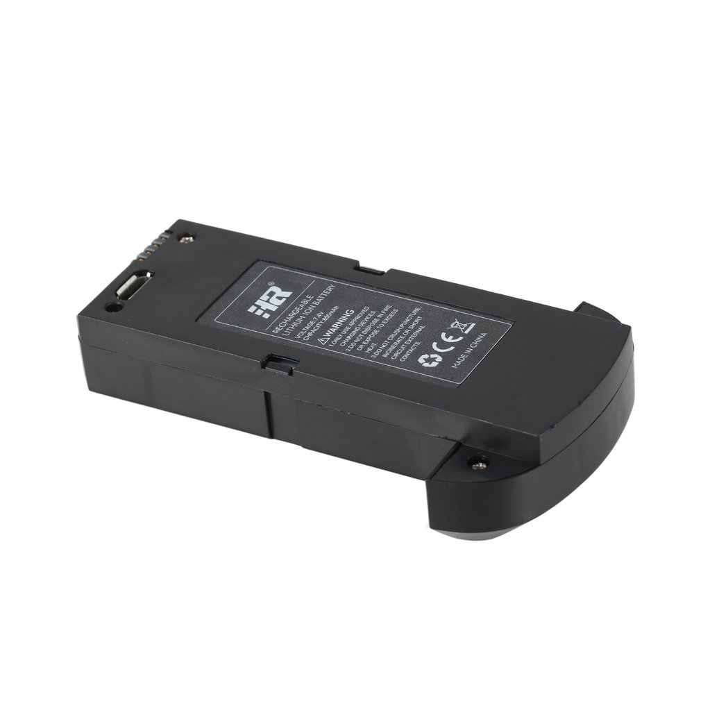 3 piezas 7,4 V 850mAh batería Lipo recargable para SHRC H1G RC Quadcopter piezas de repuesto RC Drone Litio- ion de la batería negro