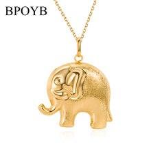Bpoyb 2021 Новый Большой Слон багажник Ожерелье Подвески Дубай