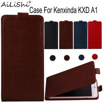 Funda AiLiShi para kenxlinda KXD A1 lujosa funda abatible de calidad superior de PU funda protectora exclusiva para teléfono 100% + seguimiento