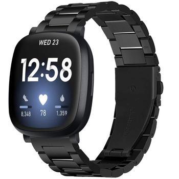 Stainless Steel Strap For Fitbit Versa 3 Smart Watch Band Metal Wrist Bracelet Correa For Fitbit Sense/Versa 3 Accessory Straps