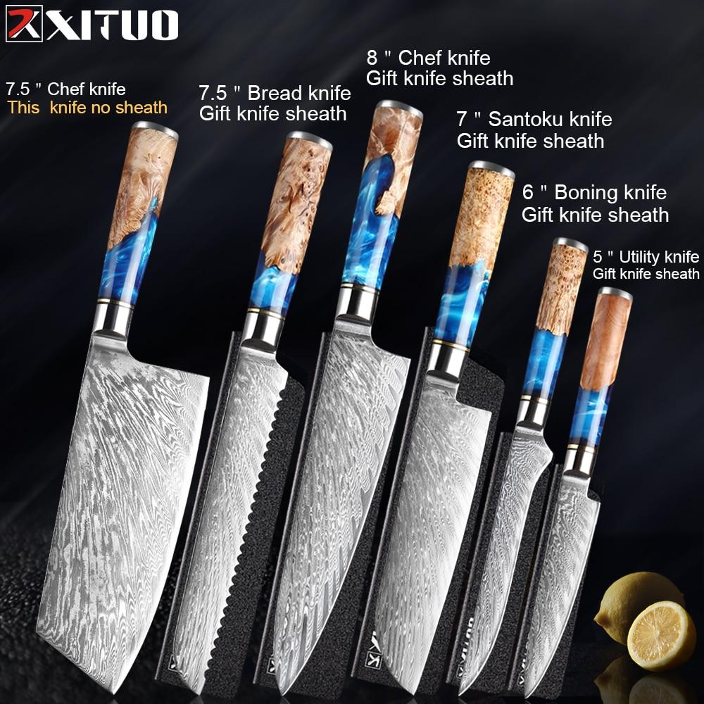 6pcs knives
