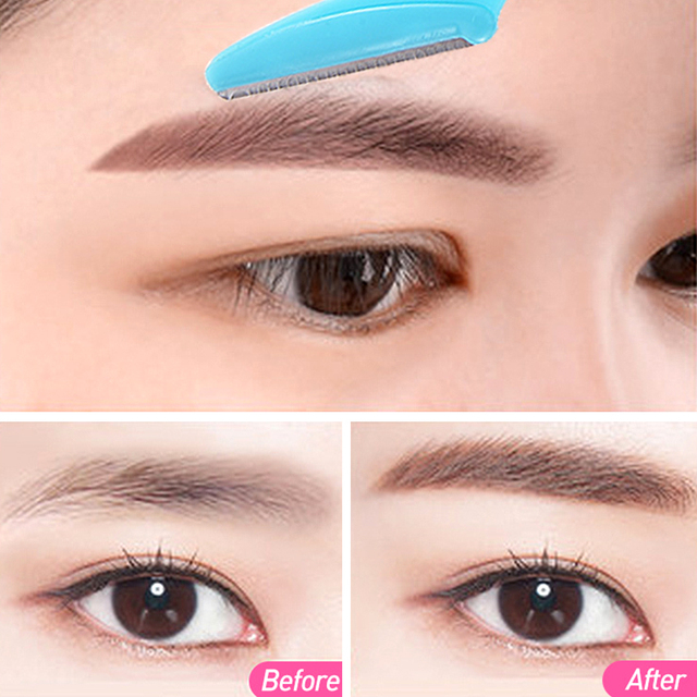 36Pcs Eyebrow Trimmer For Women