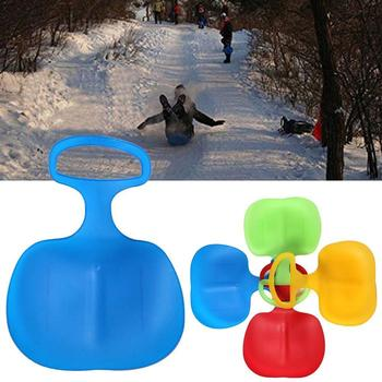 Children's Ski Film Winter Sports Sled Sledge Winter Sleigh Interesting Grass Board Gifts Slider Outdoor Skiing Kids S L6U0 image