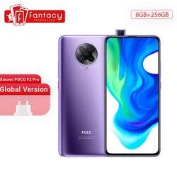 В наличии глобальная версия Xiaomi POCO F2 Pro 5G смартфон 8G 256G Snapdragon 865 64MP Quad задняя камера 6,67 дюйммобильный телефон 4700mAh