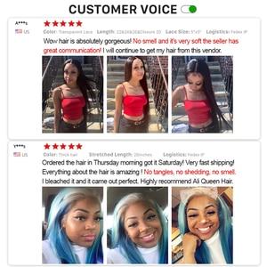 "Image 5 - Ali Queen Hair Brazilian Raw Virgin Hair Weave Bundles Loose Wave 10"" 30"" 100% Human Hair Weaving Natural Color Hair Extension"