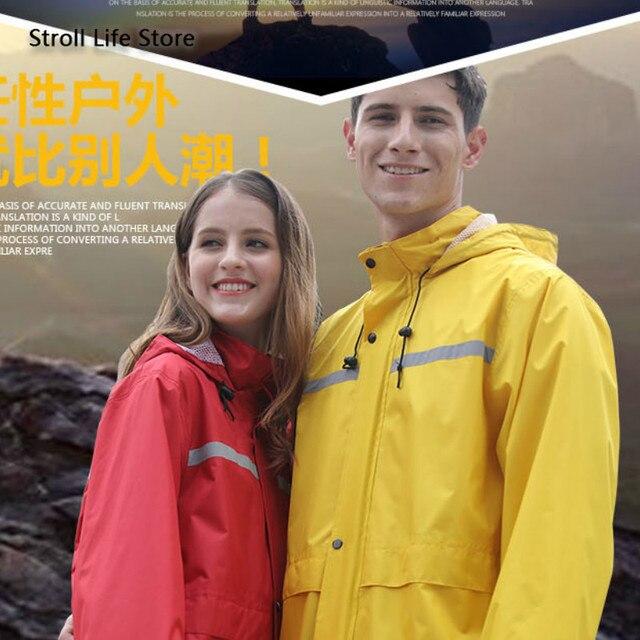 Adult Waterproof Rain Coat Pants Split Battery Motorcycle Raincoat Hiking Waterproof Suit for Fishing Breathable Chest Waders 4