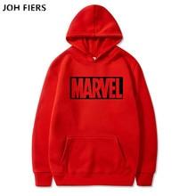 2019 New Brand Marvel Hoodies men high quality Long sleeves Casual Sweatshirt marvel print Hoodie Tracksuits male