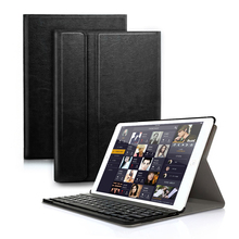 Bluetooth Keyboard PU Leather Case For iPad 2017 2018 / iPad Air 1 2/Pro 9.7 Magnetic Cover For IOS Android Tablet original magnetic keyboard dock case cover for teclast tbook 11 tablet