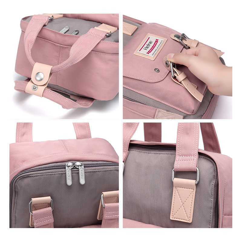 New Style Mommy Bag MOTHER'S Bag Versitile Fashion Mini Multi-functional Mummy Bag Baoma Nursing Backpack Fashion