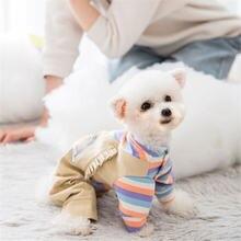 Толстовки miflame с радужной собакой одежда для пары маленьких