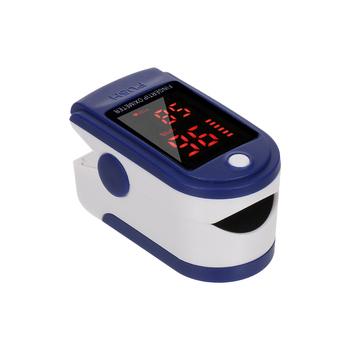 Pulsoksymetr palec oximetro de dedo klips na palec pulsometr saturimetro oxymetre pulsoksymetr pulsoksymetr napalcowy tanie i dobre opinie meterk CN (pochodzenie) Oximeter