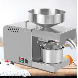Mała prasa do oleju domowego automatyczna stal nierdzewna olej sezamowy prasa olej z orzechów włoskich prasa orzechowa maszyna do prasowania