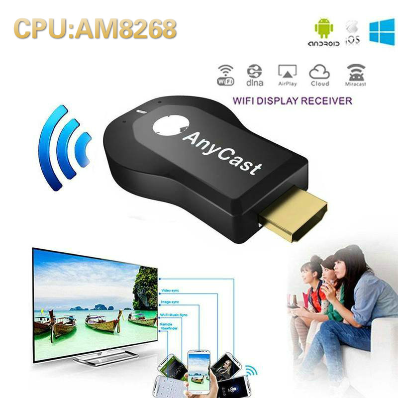 AnyCast M4 plus tv stick 1080P WIFI Display Dongle ricevitore wireless DLNA AirPlay Mirror HDMI-compatibile Stick per IOS Android
