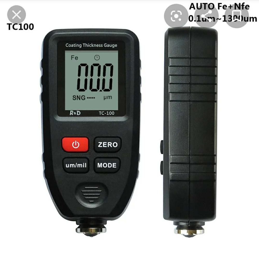TC100 Coating Thickness Gauge Tester