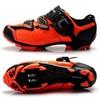 Apuramento! Tiebao das mulheres dos homens mtb sapatos de bicicleta sapatos de ciclismo de montanha auto-bloqueio botas de tornozelo alto triathlon sapatos de bicicleta EU38-47 25