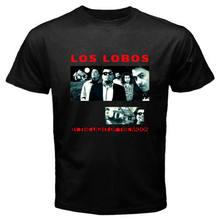 Camiseta negra de Los lobo de la luz de la luna para hombre, Album, talla S, 3Xl, nueva
