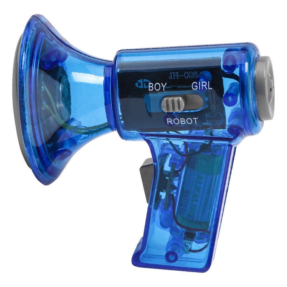 Grappige Multi Voice Changer Versterker 3 Verschillende Stemmen Speelgoed Speaker Kids Gift Educatief Kids Toys Verjaardag Gifts