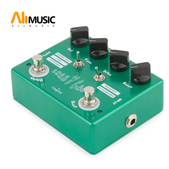 Caline CP-20  Crazy Cacti Overdrive Guitar Effect pedal green color Free Shipping