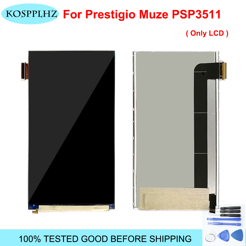 Original Quality LCD For <font><b>Prestigio</b></font> <font><b>Muze</b></font> <font><b>G3</b></font> <font><b>Lte</b></font> <font><b>PSP3511</b></font> PSP 3511 <font><b>DUO</b></font> PSP3511DUO LCD Display Digitizer ( NO Touch Screen ) + Tools image