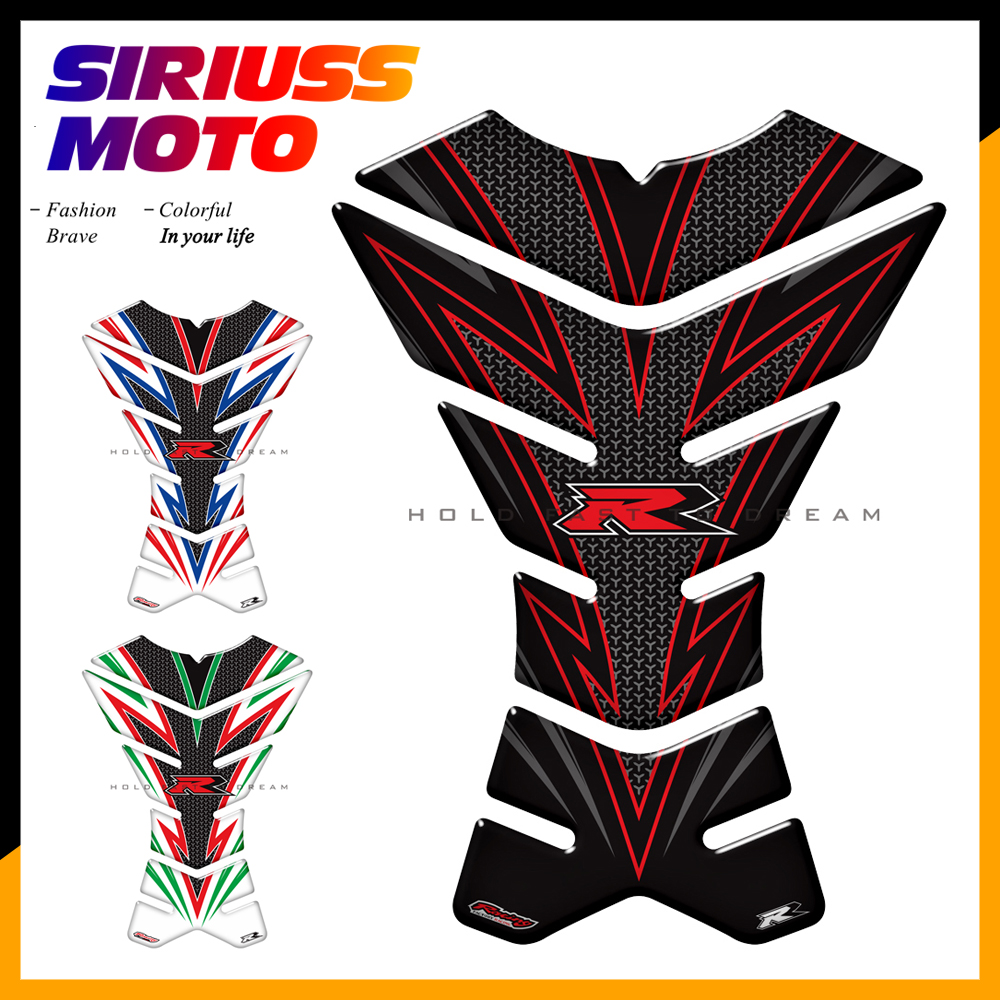 3D Motorcycle Tank Pad Protector <font><b>Sticker</b></font> Motocross Racing Tankpad Case for <font><b>Suzuki</b></font> <font><b>GSXR</b></font> <font><b>600</b></font> 750 Hayabusa GSR750 GSR600 GSF image