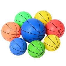 6 polegadas Bola De Borracha Do Bebê Dos Miúdos Jogos De Futebol Esporte Futebol Basquete Criança Interior Brinquedos Ao Ar Livre Divertido Jogo Sensorial
