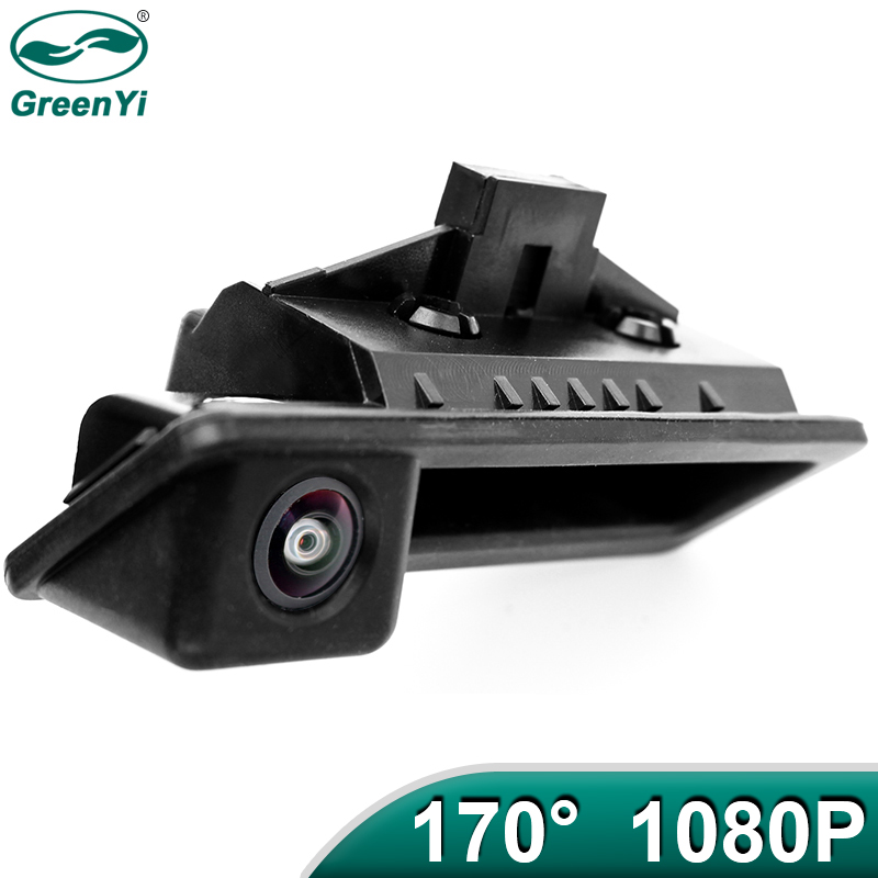 GreenYi 170 Degree 1920x1080P AHD Special Vehicle Rear View Camera for BMW E82 E88 E84 E90 E91 E92 E93 E60 E61 3 5 X5 X6 Car(China)